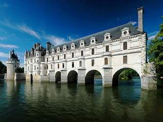Picture of the castle of Chenonceau